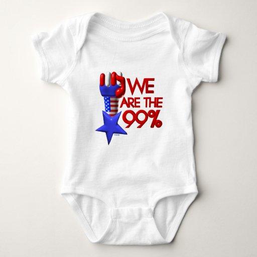 We are 99% rising star baby bodysuit