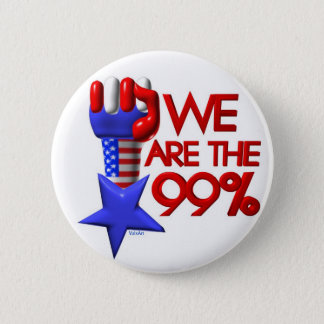 We are 99% rising star pinback button