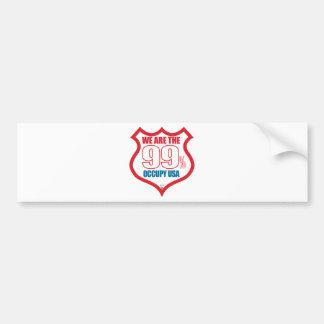 We-are-99-usa- Bumper Sticker