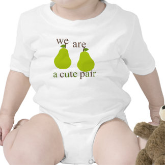 We Are A Cute Pair T-shirts