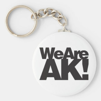 We Are Alaska Keychain