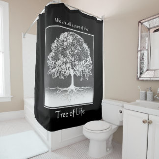 Tree Life Shower Curtains | Zazzle