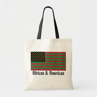 We Are All America - African & American Tote
