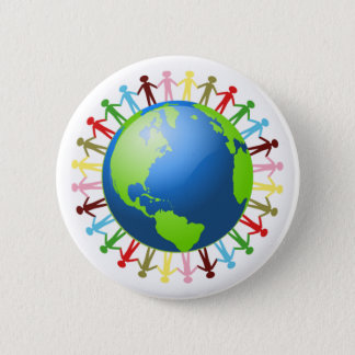 We Are All Connected button
