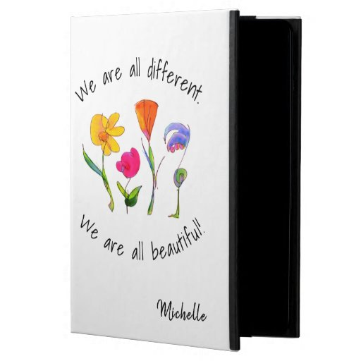 We Are All Different & Beautiful | Diversity Case For iPad Air