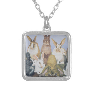 We are All Ears Silver Plated Necklace
