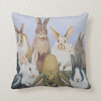 We are All Ears Throw Pillow