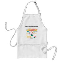 We Are All Genetic Engineers (RNA Splicing) Adult Apron