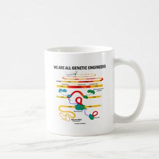 We Are All Genetic Engineers (RNA Splicing) Coffee Mug