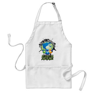 We are all immigrants adult apron