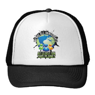 We are all immigrants trucker hat