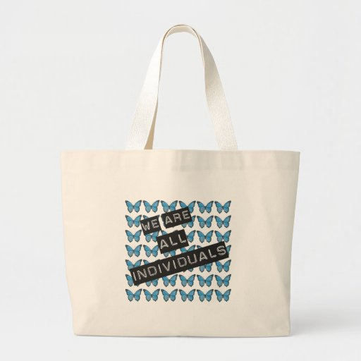 We are all individuals tote bag