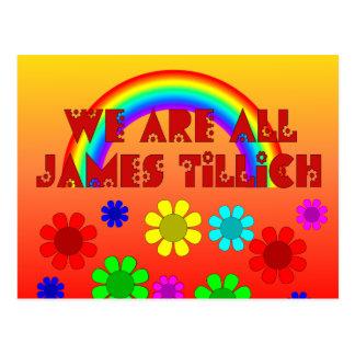 We Are All James Tillich Postcard