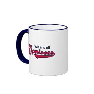 We Are All Kipnisses Ringer Coffee Mug