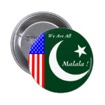 WE ARE ALL MALALA ! PINS