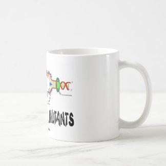 We Are All Mutants (DNA Replication Humor) Classic White Coffee Mug