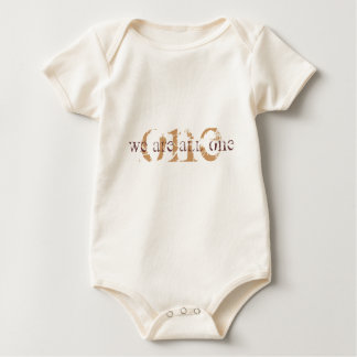 WE ARE ALL ONE BABY BODYSUIT