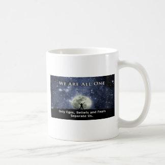 we are all one. coffee mug
