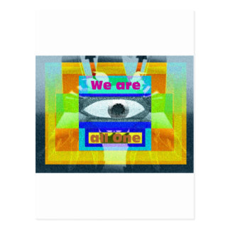 We are all One!! Postcard