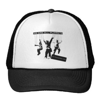 We are All Puppets Trucker Hat