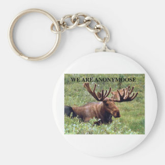 WE ARE ANONYMOOSE KEYCHAIN