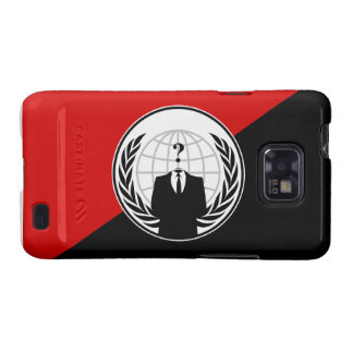 We Are Anonymous Anarchist Flag Galaxy SII Case