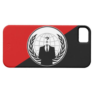 We Are Anonymous Anarchist Flag iPhone 5 Cases