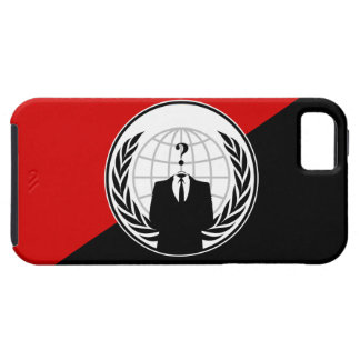 We Are Anonymous Anarchist Flag iPhone 5 Case
