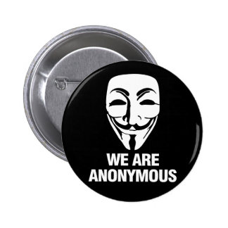 We are Anonymous. Pins