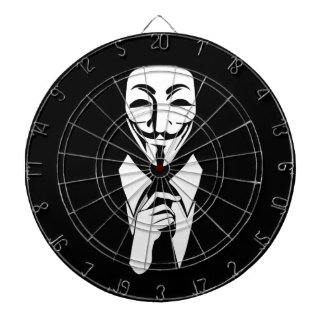 We are anonymous dartboard with darts