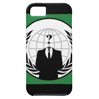 We Are Anonymous Green and Black Flag iPhone SE/5/5s Case