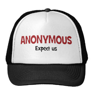 We Are Anonymous Mesh Hat