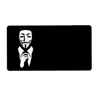 We are anonymous label