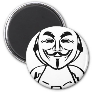 We Are Anonymous Magnet