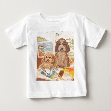 Beach Themed We Are Artist Too!.jpg Baby T-Shirt