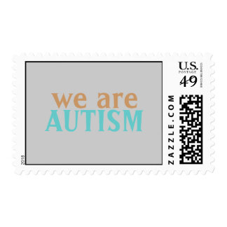 We are Autism Stamp