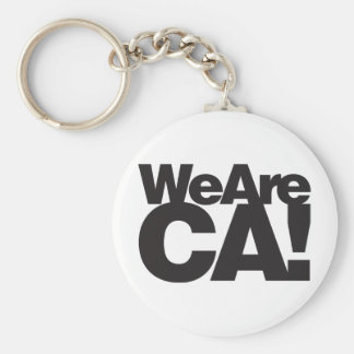 We Are California Keychain