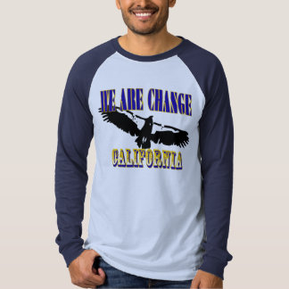 We Are Change California Condor T-shirt
