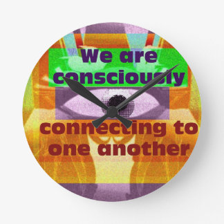 We are consciously connecting wallclocks