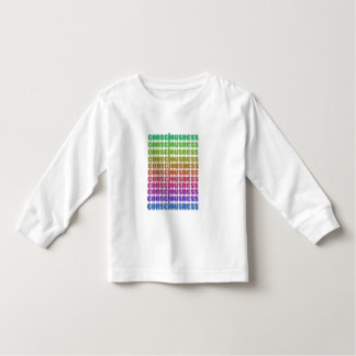 we are consciousness toddler t-shirt