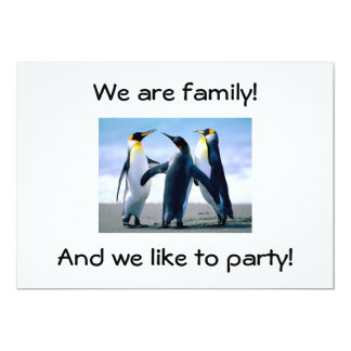 WE ARE FAMILY-FAMILY RENUION INVITE