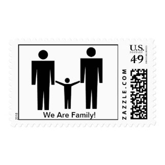 """""""We Are Family!"""" Stamp"""