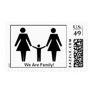 """""""We Are Family"""" Stamp"""