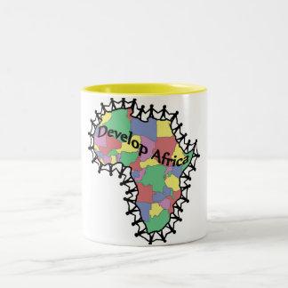 We Are Family Two-Tone Coffee Mug