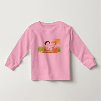 We are firends toddler t-shirt