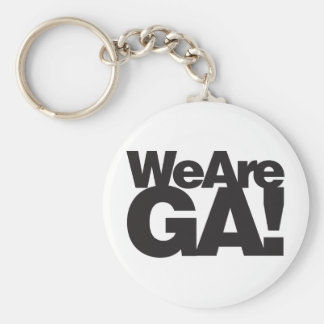 We Are Georgia Keychain