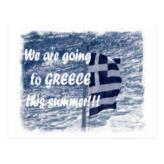 We are going to Greece this summer!!! Postcard