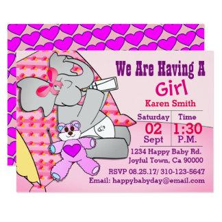 We Are Having A Girl, Elephant Card