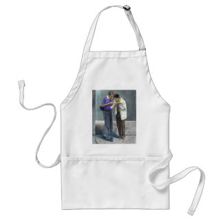 We Are Here! Adult Apron