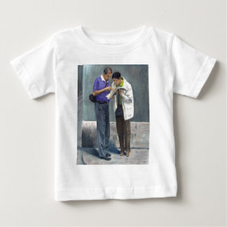 We Are Here! Baby T-Shirt